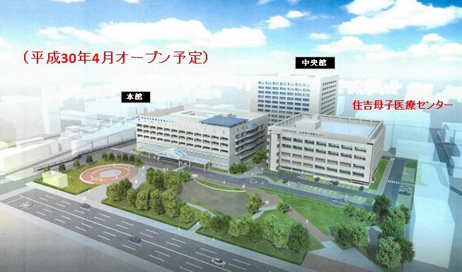 大阪市共同住吉母子医療センター(仮称)の整備について