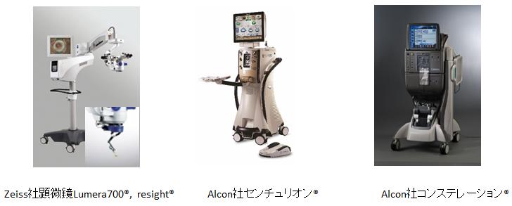 手術機器の紹介